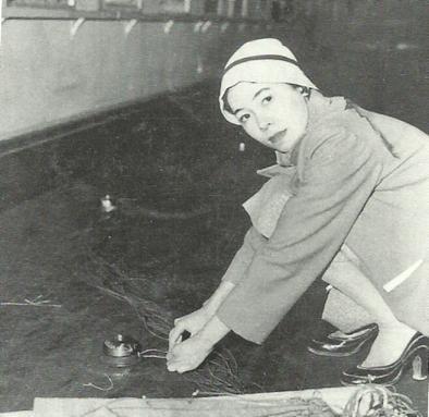 Atsuko Tanaka from the Gutai
